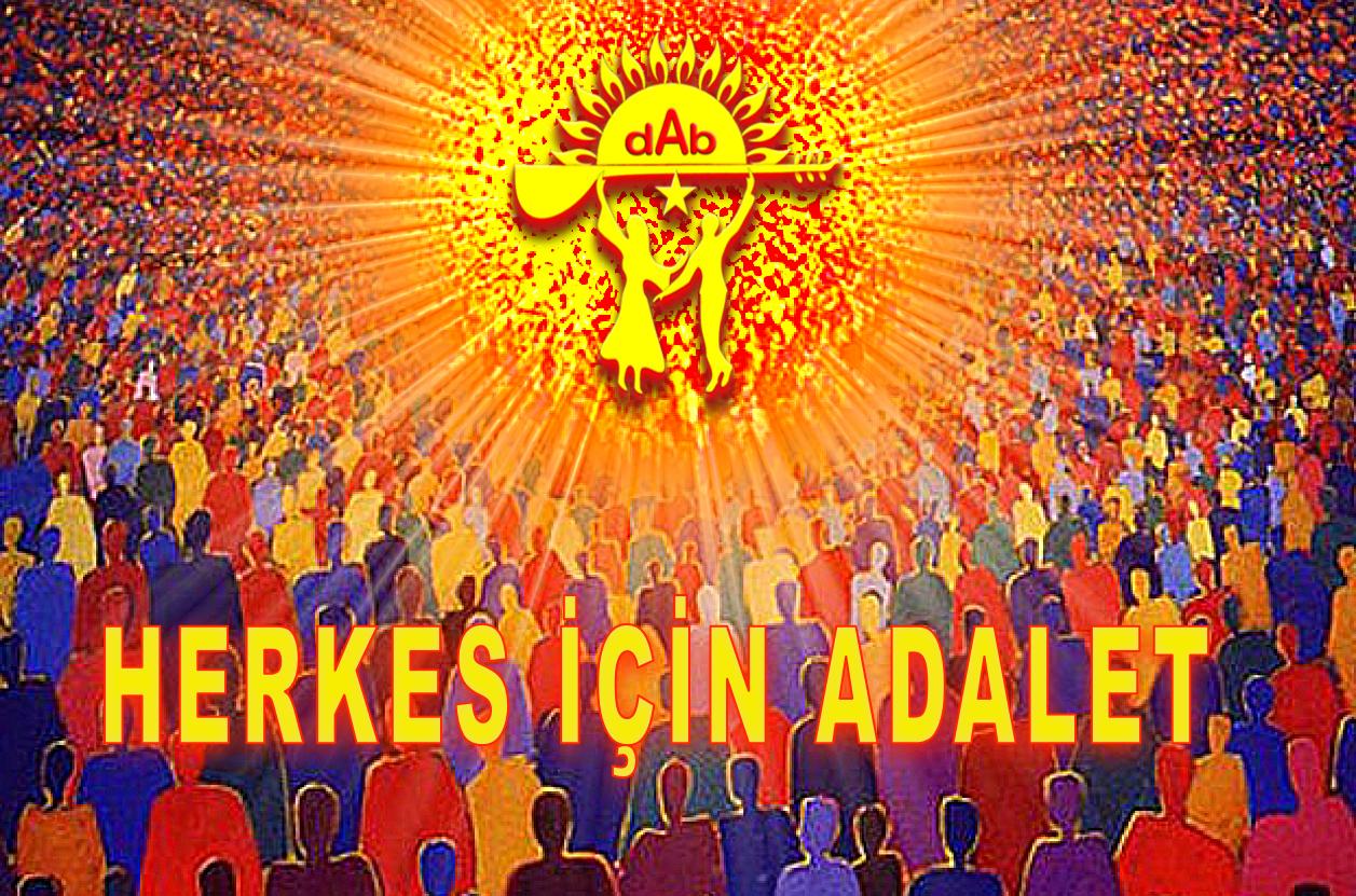 Devrimci Aleviler Birliği DAB Alevi Kızılbaş Bektaşi pir sultan cem hz Ali 12 imam semah Feramuz Şah Acar HERKES İCİN ADALET DAB