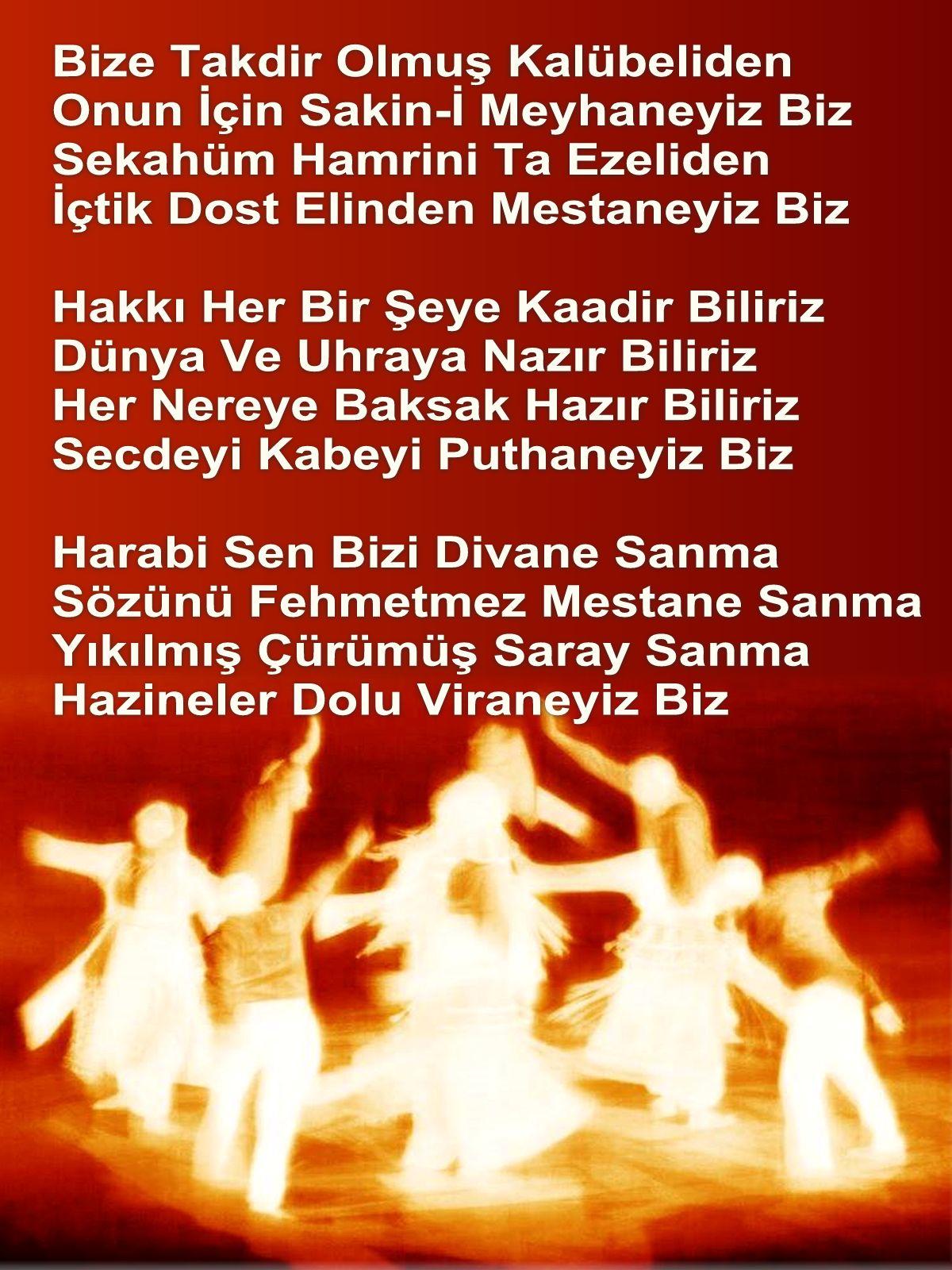Devrimci Aleviler Birliği DAB Alevi Kızılbaş Bektaşi pir sultan cem hz Ali 12 imam semah Feramuz Şah Acar Harabi