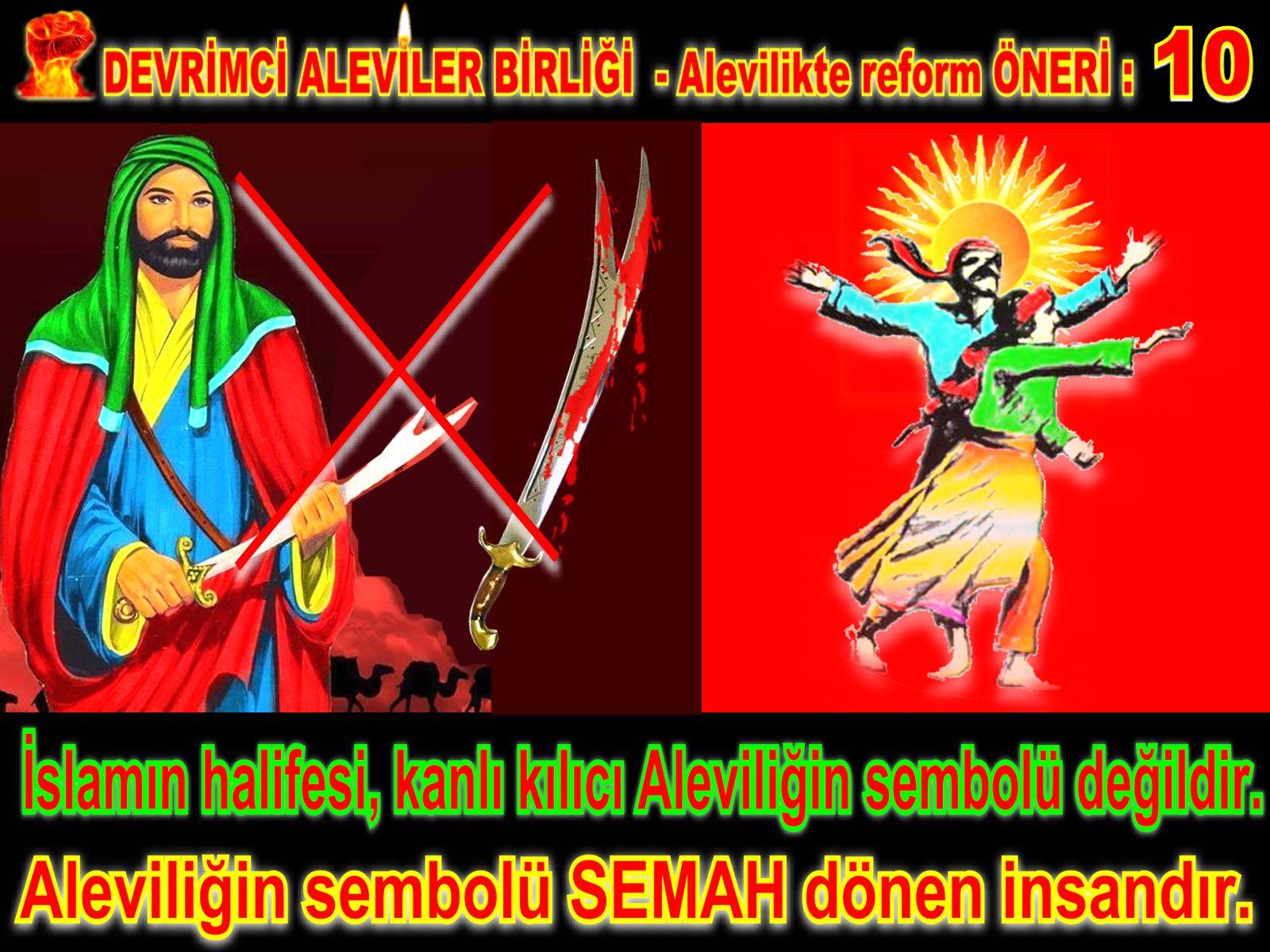 Devrimci Aleviler Birliği DAB Alevi Kızılbaş Bektaşi pir sultan cem hz Ali 12 imam semah Feramuz Şah Acar REFOM oneri10