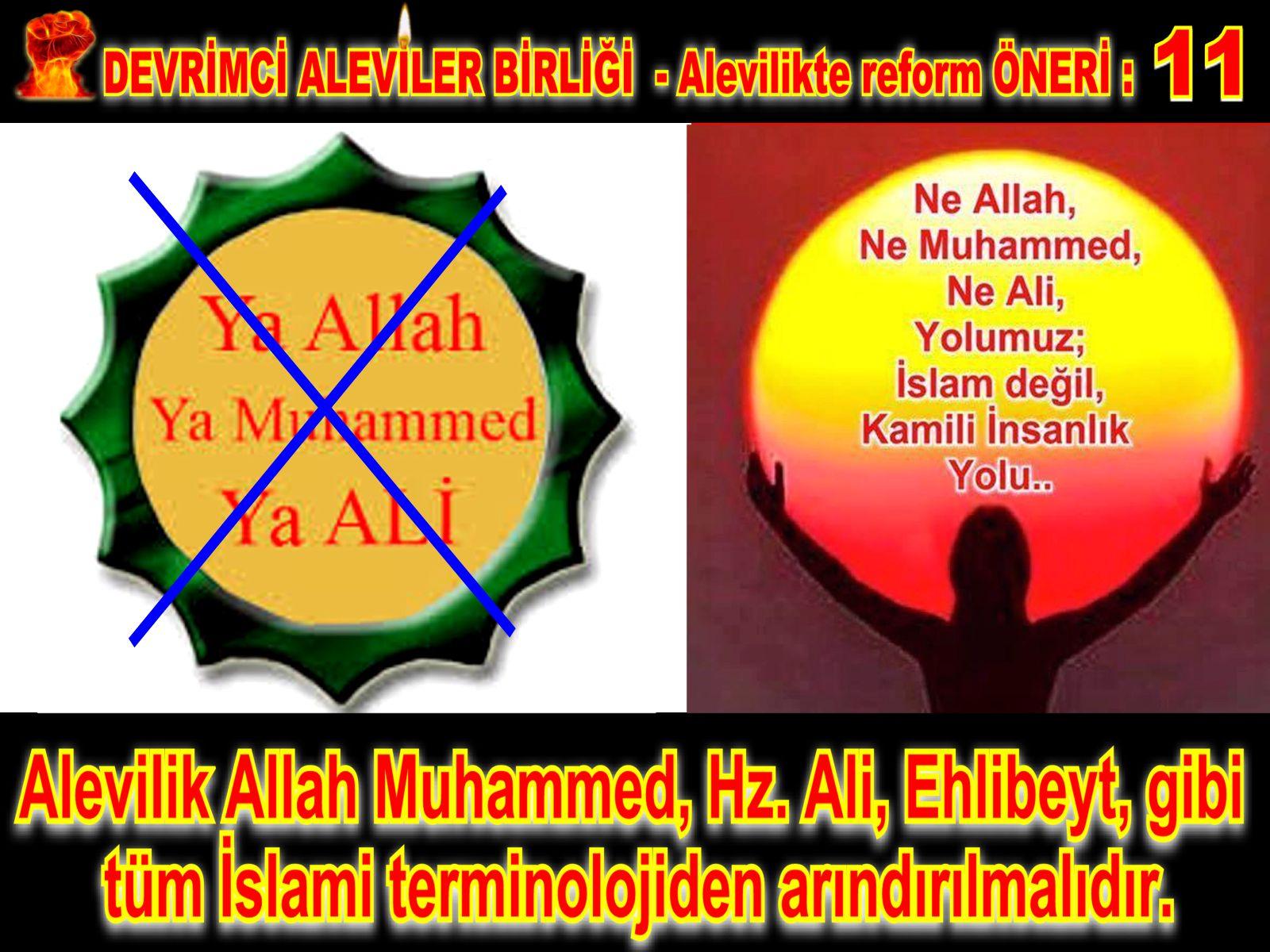 Devrimci Aleviler Birliği DAB Alevi Kızılbaş Bektaşi pir sultan cem hz Ali 12 imam semah Feramuz Şah Acar REFOM oneri11