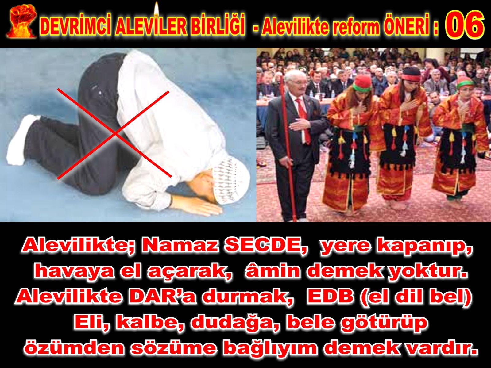 Devrimci Aleviler Birliği DAB Alevi Kızılbaş Bektaşi pir sultan cem hz Ali 12 imam semah Feramuz Şah Acar REFOM oneri6