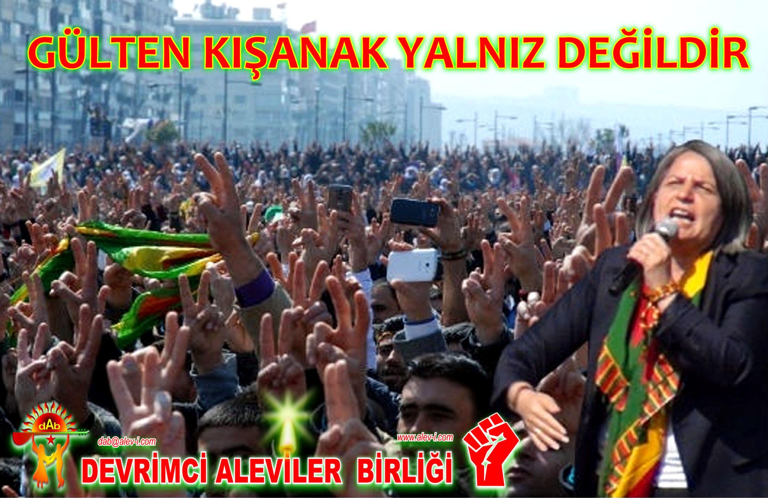 Devrimci Aleviler Birliği DAB Alevi Kızılbaş Bektaşi pir sultan cem hz Ali 12 imam semah Feramuz Şah Acar gulten kisanak yalniz degildir DAB