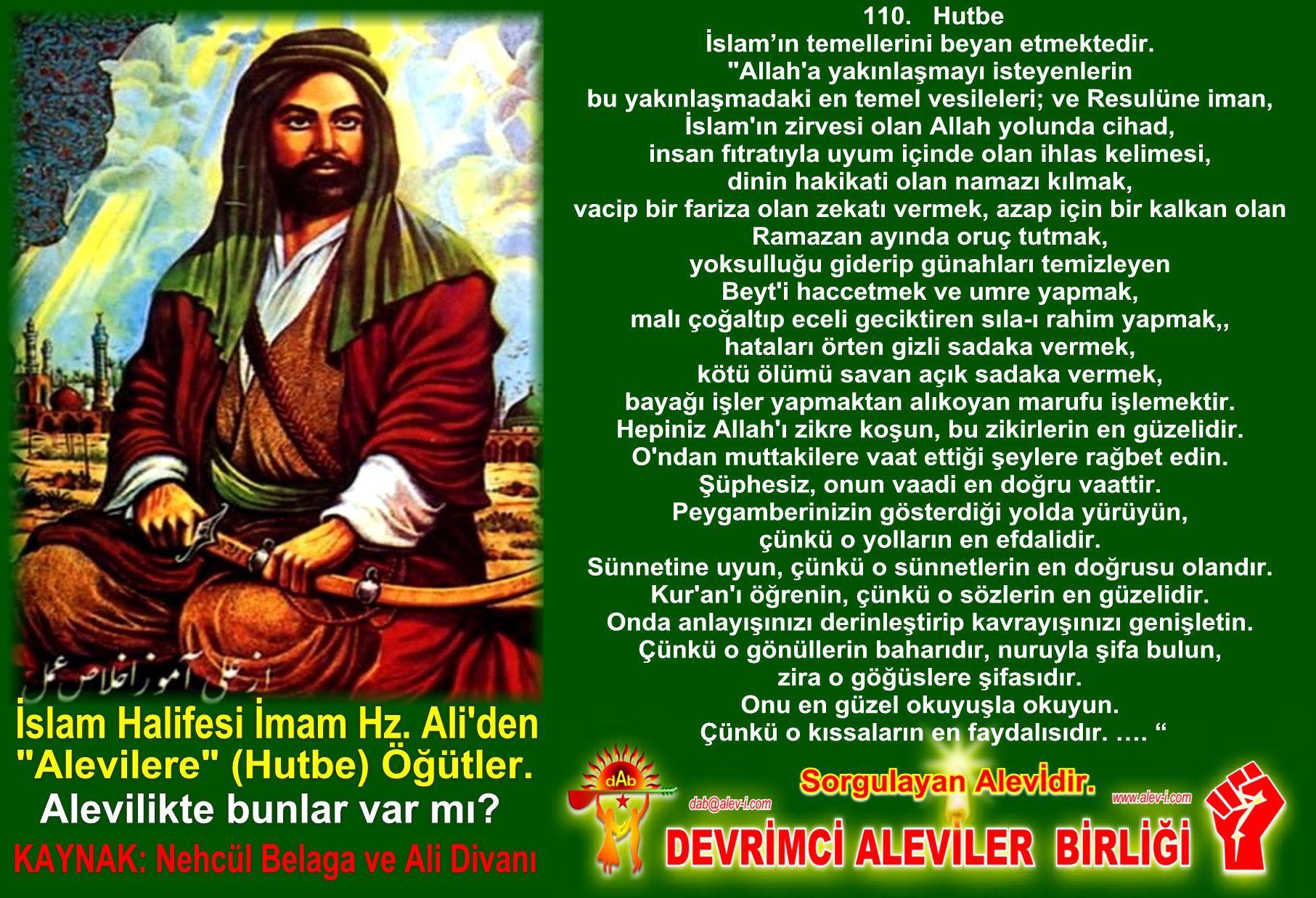 Devrimci Aleviler Birliği DAB Alevi Kızılbaş Bektaşi pir sultan cem hz Ali 12 imam semah Feramuz Şah Acar halife imam hz ali den inciler 5
