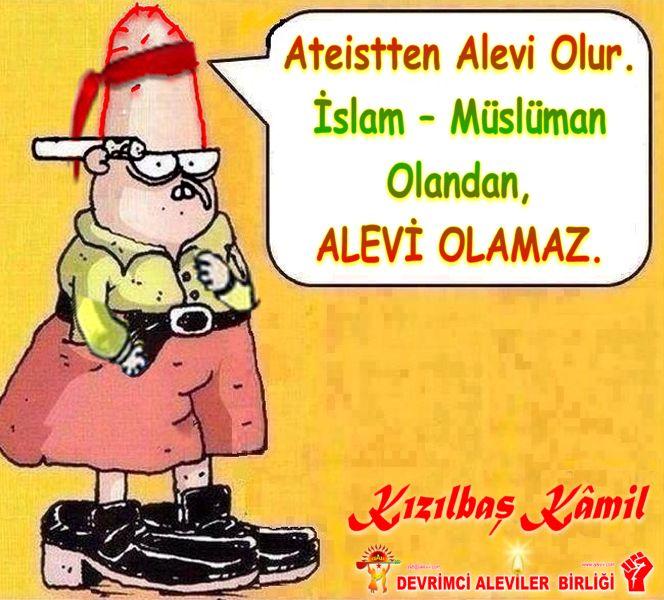 Devrimci Aleviler Birliği DAB Alevi Kızılbaş Bektaşi pir sultan cem hz Ali 12 imam semah Feramuz Şah Acar kizilbas kamil islam musluman olan alevi olamaz