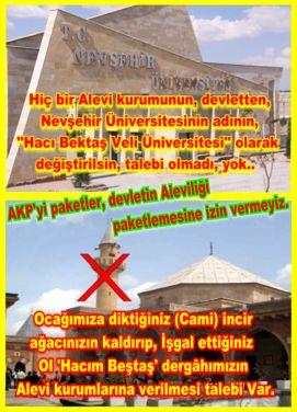 Devrimci Aleviler Birliği DAB Alevi Kızılbaş Bektaşi pir sultan cem hz Ali 12 imam semah Feramuz Şah Acar nevsehir