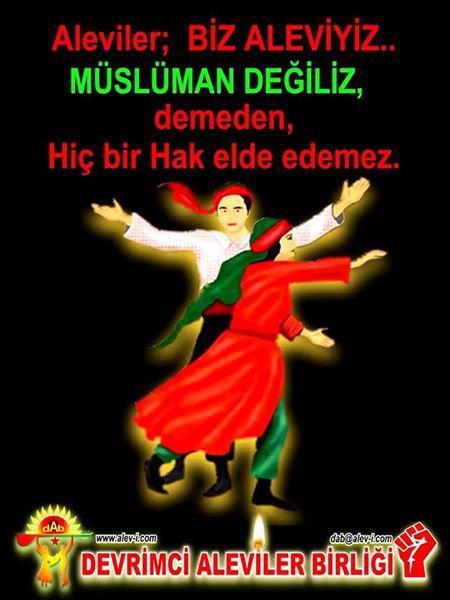 Devrimci Aleviler Birliği DAB Alevi Kızılbaş Bektaşi pir sultan cem hz Ali 12 imam semah Feramuz Şah Acar photo_431440283671033