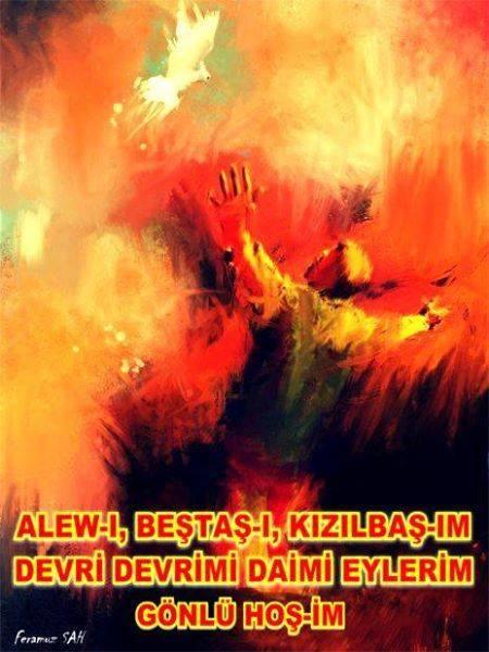 Devrimci Aleviler Birliği DAB Alevi Kızılbaş Bektaşi pir sultan cem hz Ali 12 imam semah Feramuz Şah Acar photo_447727572042304