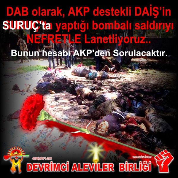 Devrimci Aleviler Birliği DAB Alevi Kızılbaş Bektaşi pir sultan cem hz Ali 12 imam semah Feramuz Şah Acar photo_545091165639277