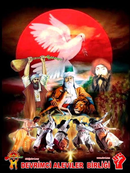 Devrimci Aleviler Birliği DAB Alevi Kızılbaş Bektaşi pir sultan cem hz Ali 12 imam semah Feramuz Şah Acar photo_575490415932685