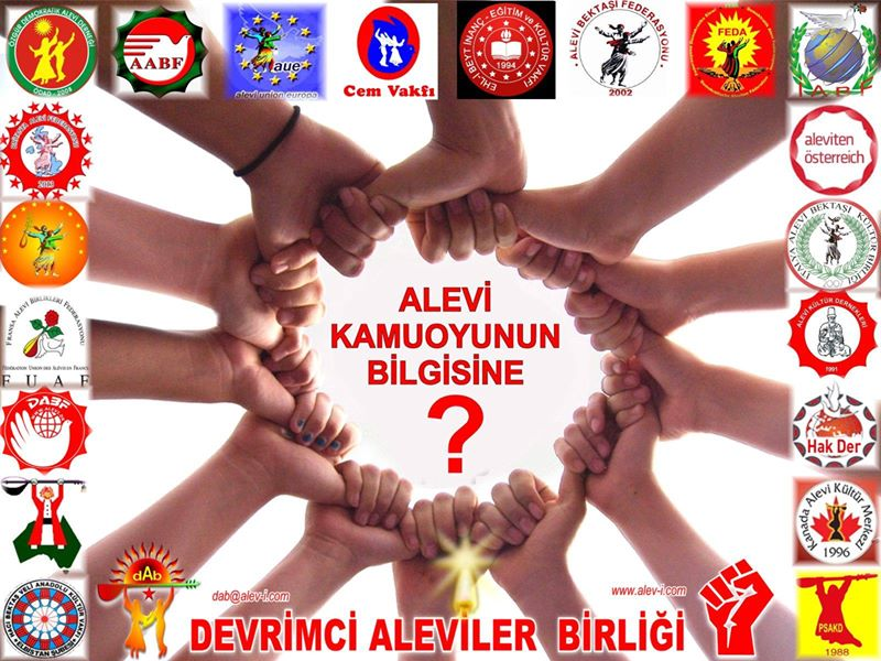 Devrimci Aleviler Birliği DAB Alevi Kızılbaş Bektaşi pir sultan cem hz Ali 12 imam semah Feramuz Şah Acar photo_608358352645891