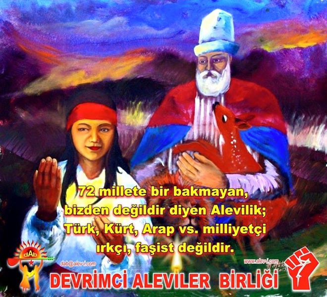 Devrimci Aleviler Birliği DAB Alevi Kızılbaş Bektaşi pir sultan cem hz Ali 12 imam semah Feramuz Şah Acar photo_624974637650929