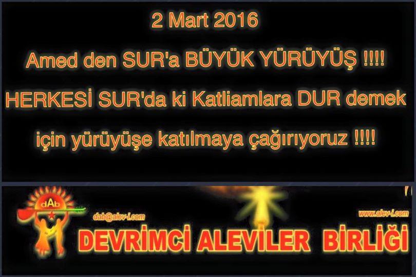 Devrimci Aleviler Birliği DAB Alevi Kızılbaş Bektaşi pir sultan cem hz Ali 12 imam semah Feramuz Şah Acar photo_643110332504026