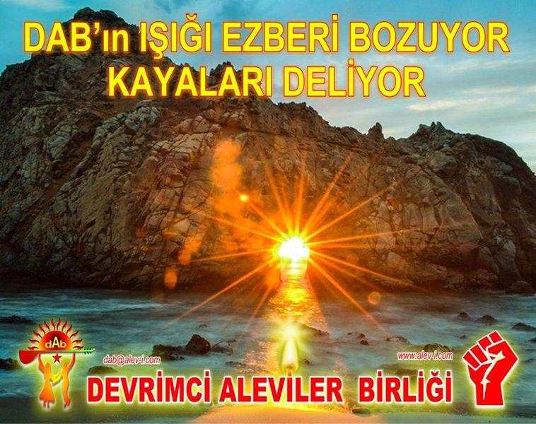 Devrimci Aleviler Birliği DAB Alevi Kızılbaş Bektaşi pir sultan cem hz Ali 12 imam semah Feramuz Şah Acar photo_665261070288952