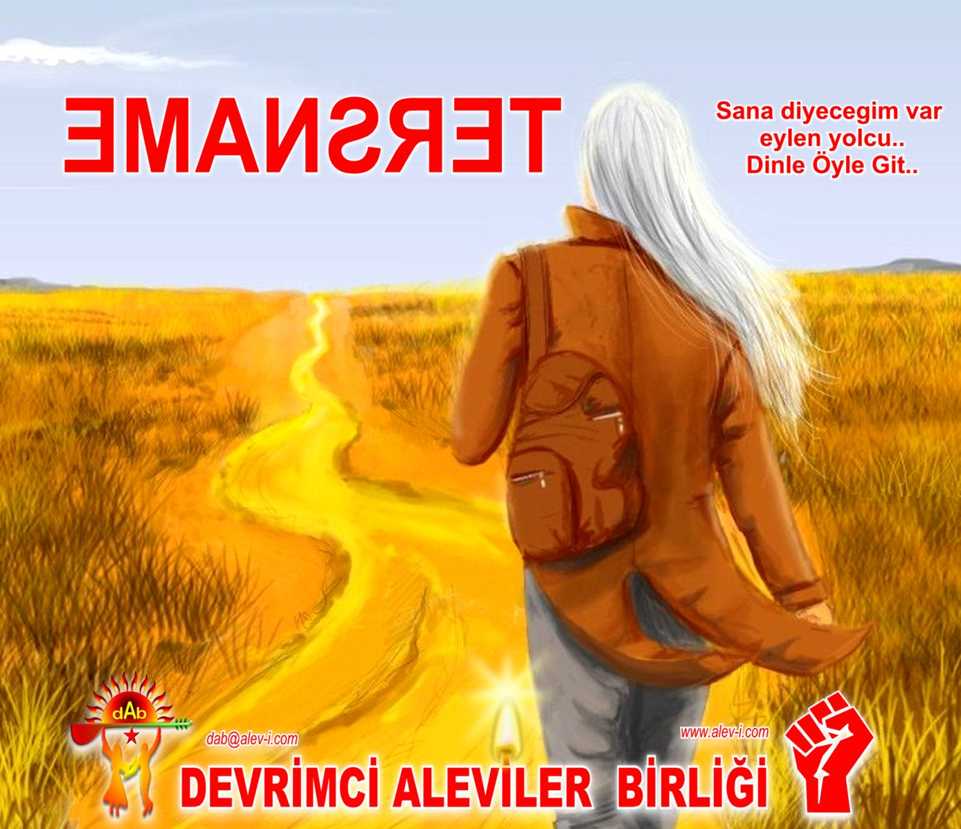 Devrimci Aleviler Birliği DAB Alevi Kızılbaş Bektaşi pir sultan cem hz Ali 12 imam semah Feramuz Şah Acar tersname yolcu DAb alevi