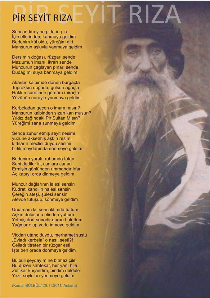 Alevi Bektaşi Kızılbaş Pir Sultan İslam dışı Atatürk faşist Devrimci Aleviler Birliği DAB geldim
