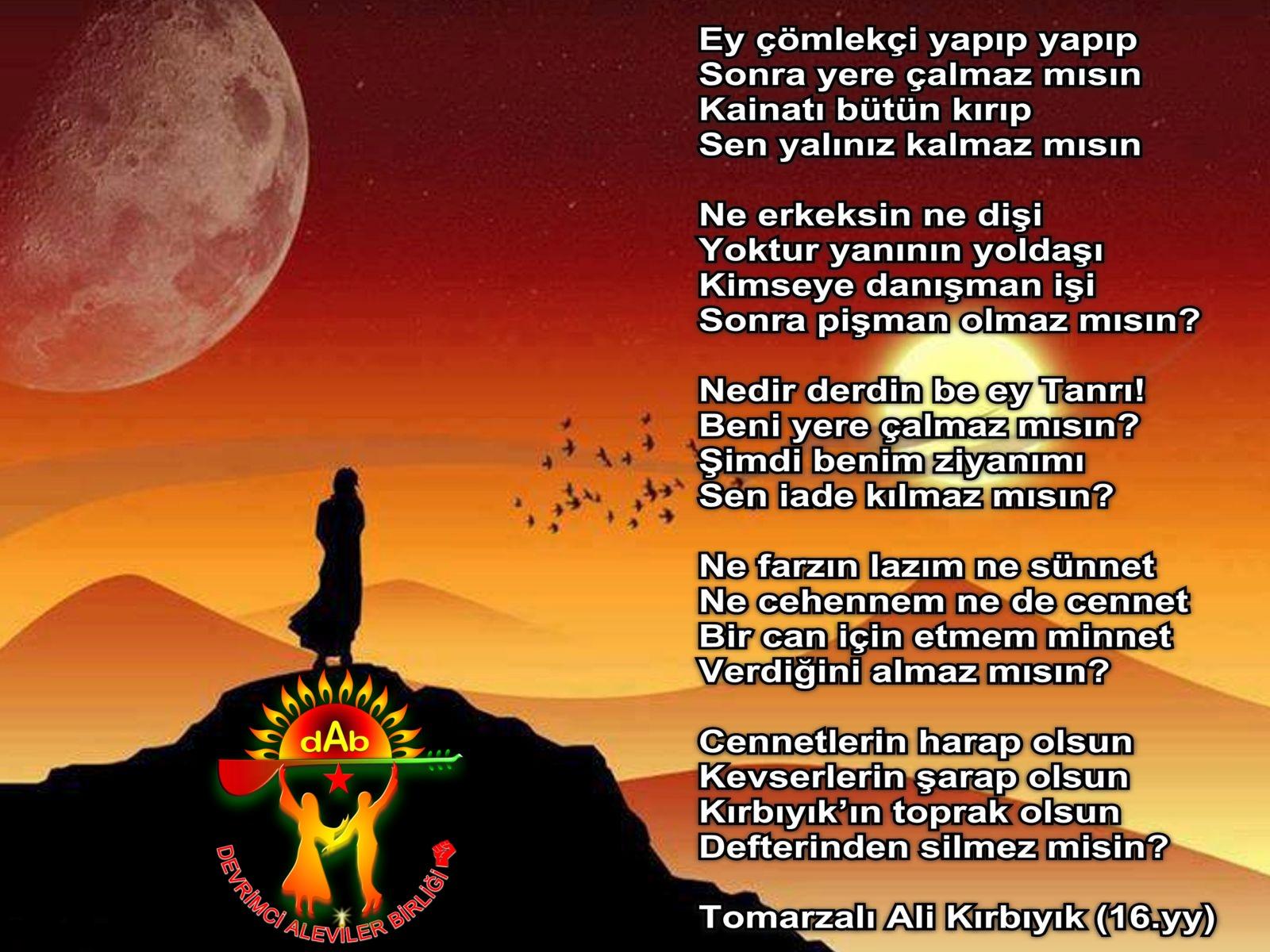 Alevi Bektaşi Kızılbaş Pir Sultan Devrimci Aleviler Birliği DAB canakci
