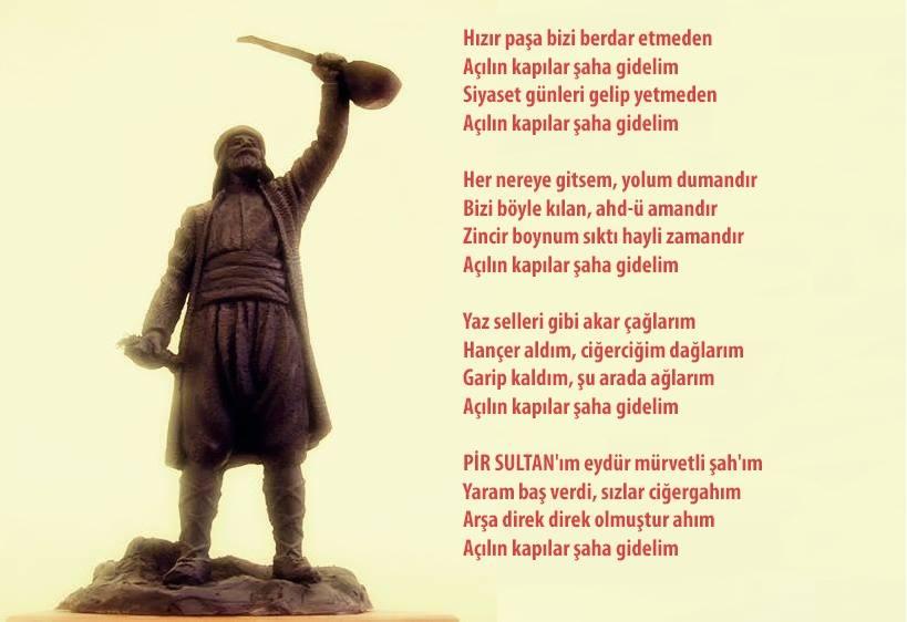 Alevi Bektaşi Kızılbaş Pir Sultan Devrimci Aleviler Birliği DAB gidelim