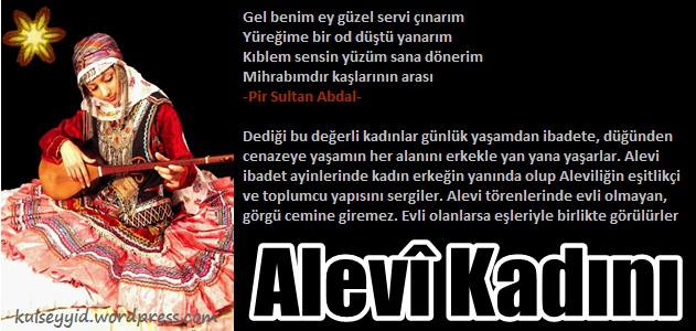 Alevi Bektaşi Kızılbaş Pir Sultan Devrimci Aleviler Birliği DAB kadin