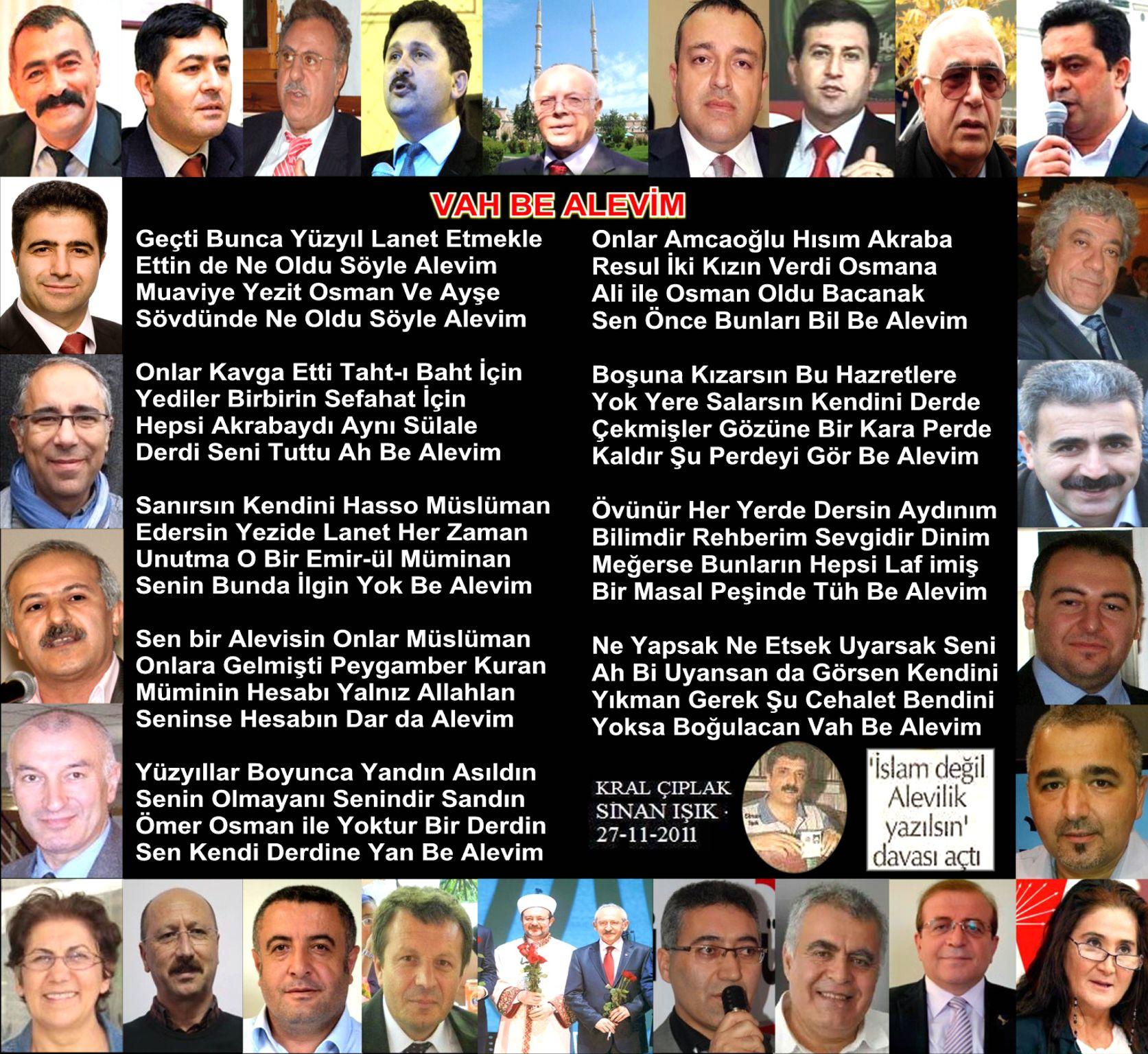 Alevi Bektaşi Kızılbaş Pir Sultan Devrimci Aleviler Birliği DAB vah be alevim