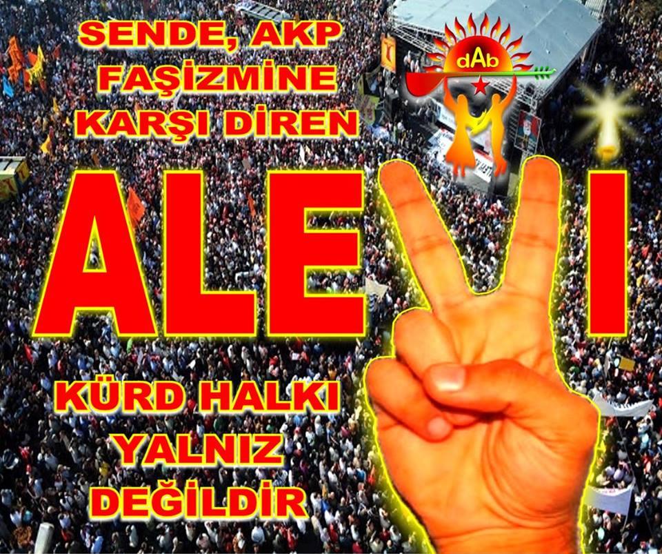 DAB alevi kurd halki pir sultan devrimci aleviler birlidi direnis dayanisma