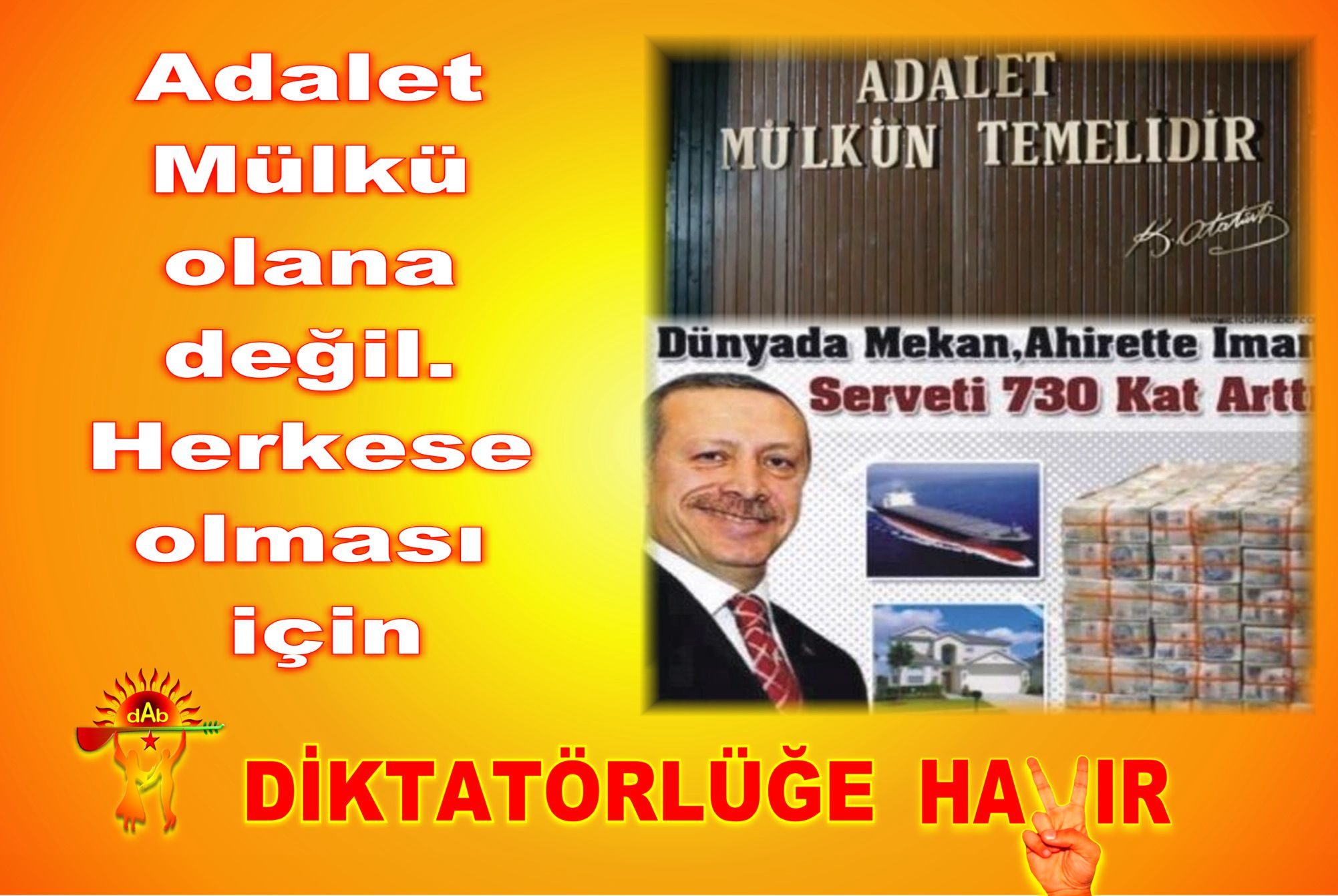 Devrimci Aleviler Birliği DAB Alevi Kızılbaş Bektaşi pir sultan cem hz Ali 12 imam semah Feramuz Şah Acar 21 hayir adalet mülk