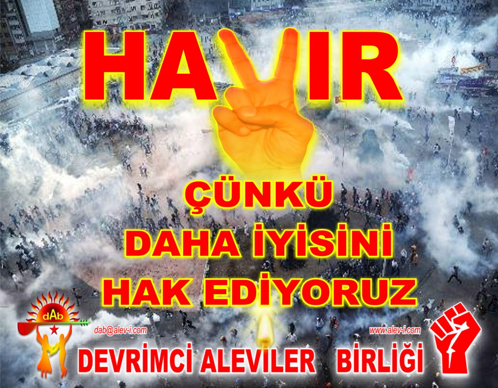 Devrimci Aleviler Birliği DAB Alevi Kızılbaş Bektaşi pir sultan cem hz Ali 12 imam semah Feramuz Şah Acar 31 DAB hayir daha iyi cunki