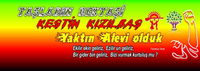 Devrimci Aleviler Birliği DAB Alevi Kızılbaş Bektaşi pir sultan cem hz Ali 12 imam semah Feramuz Şah Acar FA profil dab hdp