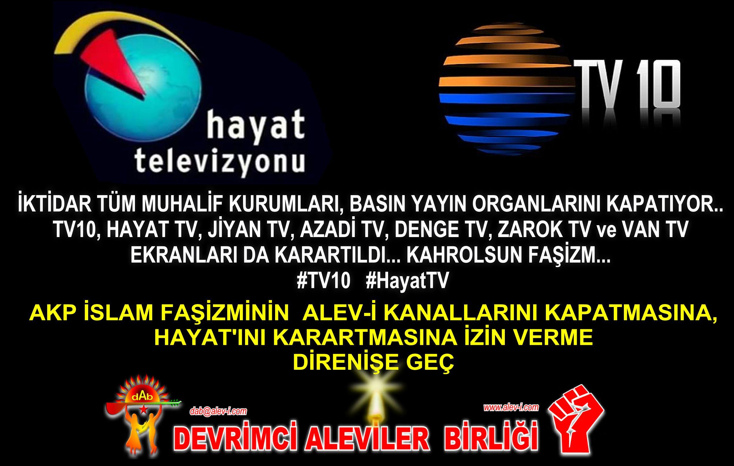 Devrimci Aleviler Birliği DAB Alevi Kızılbaş Bektaşi pir sultan cem hz Ali 12 imam semah Feramuz Şah Acar HAYAT TV10