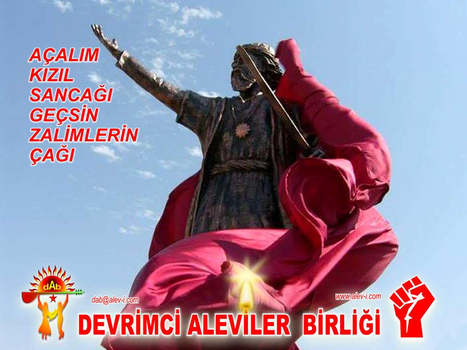 Devrimci Aleviler Birliği DAB Alevi Kızılbaş Bektaşi pir sultan cem hz Ali 12 imam semah Feramuz Şah Acar Pir sultan diren DAB