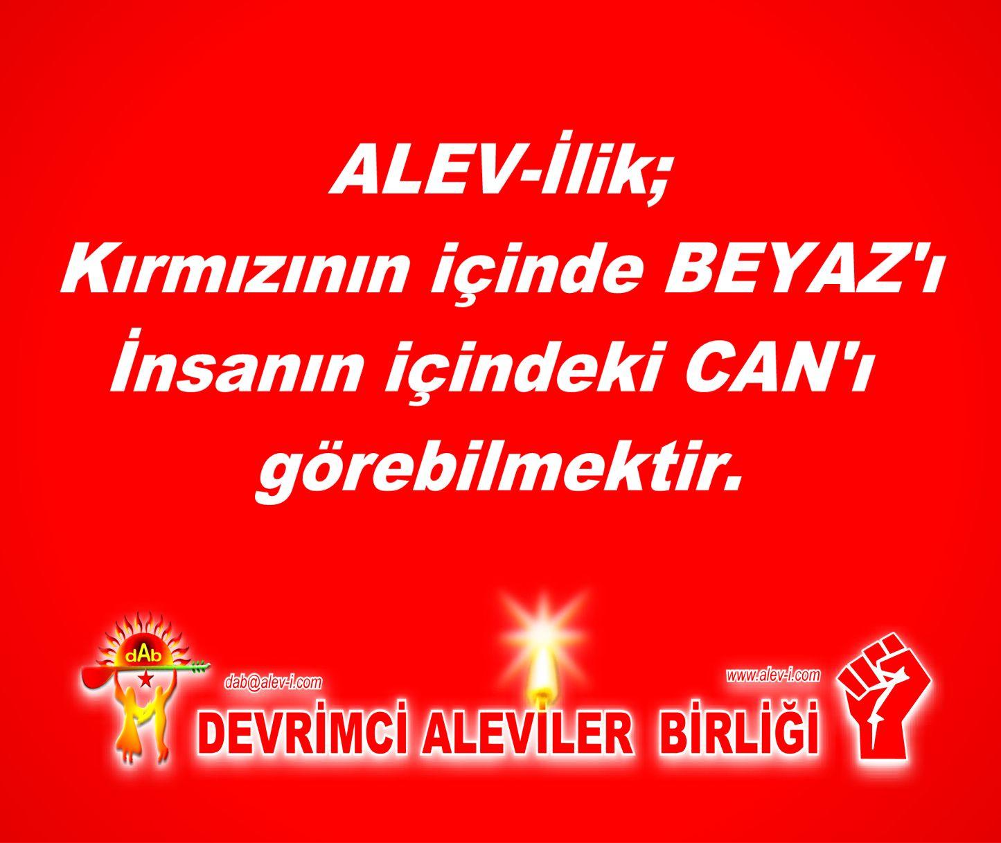 Devrimci Aleviler Birliği DAB Alevi Kızılbaş Bektaşi pir sultan cem hz Ali 12 imam semah Feramuz Şah Acar TY1