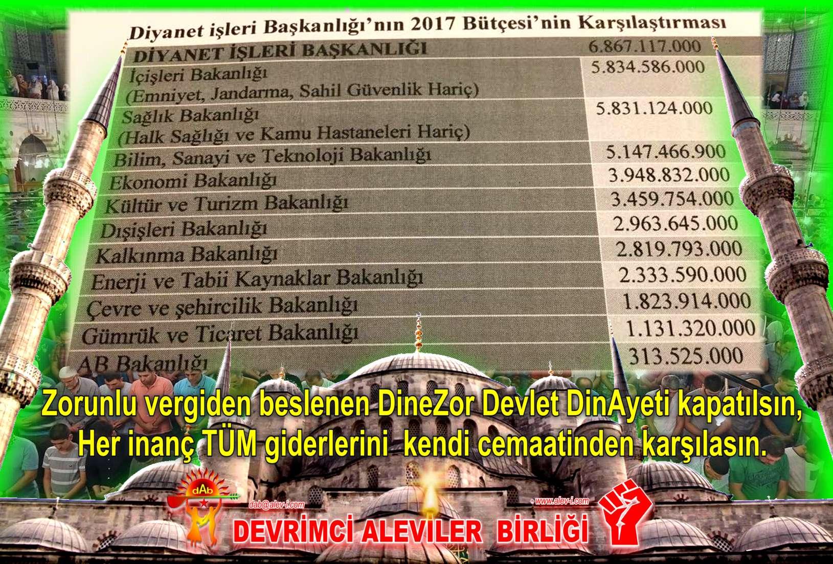 Devrimci Aleviler Birliği DAB Alevi Kızılbaş Bektaşi pir sultan cem hz Ali 12 imam semah Feramuz Şah Acar dinayet butcesi 2017x