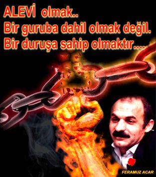 Devrimci Aleviler Birliği DAB Alevi Kızılbaş Bektaşi pir sultan cem hz Ali 12 imam semah Feramuz Şah Acar durus alevi feramuz