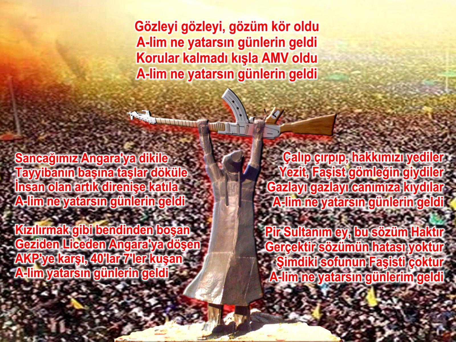 Devrimci Aleviler Birliği DAB Alevi Kızılbaş Bektaşi pir sultan cem hz Ali 12 imam semah Feramuz Şah Acar gozleyi