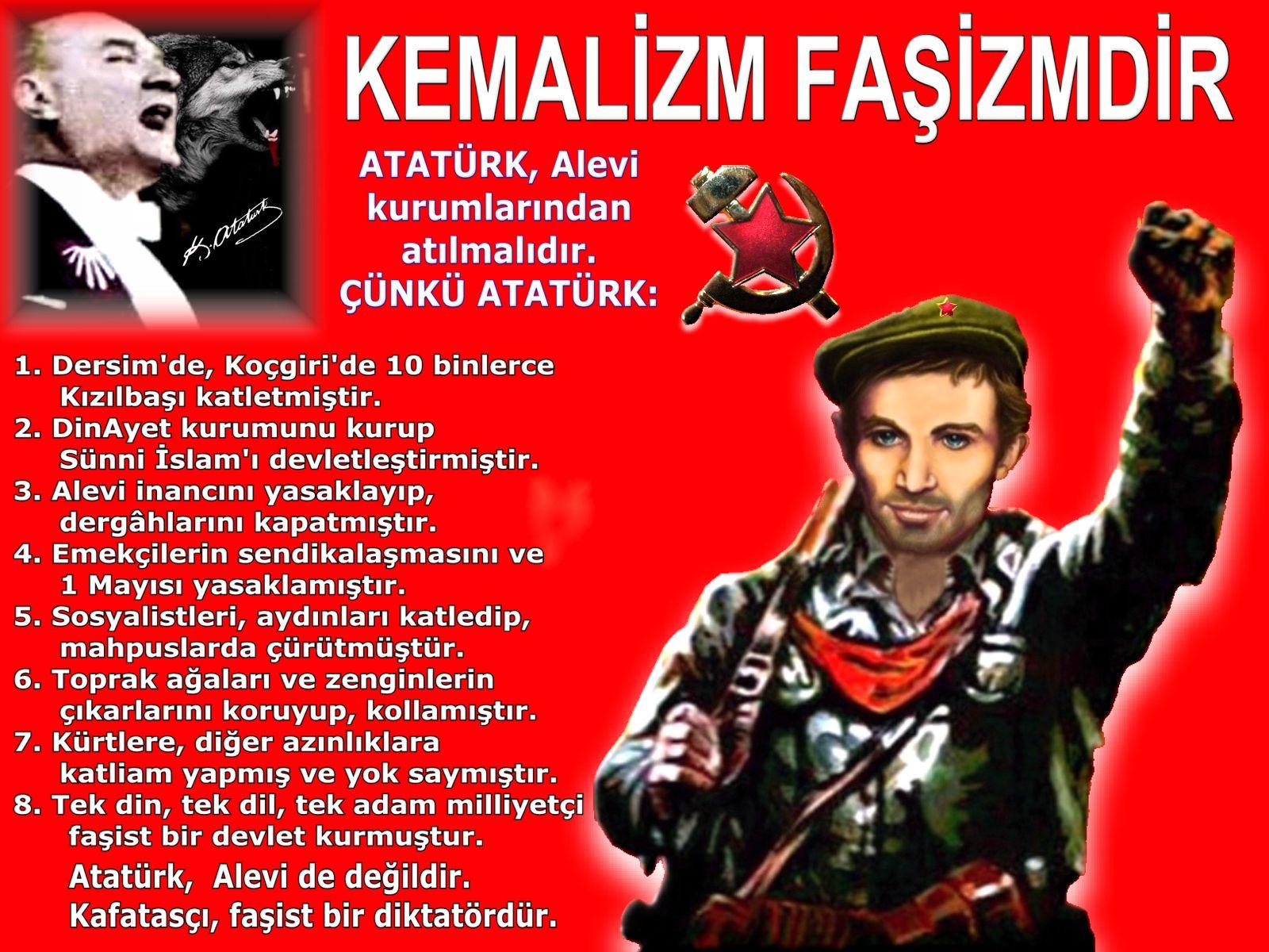 Devrimci Aleviler Birliği DAB Alevi Kızılbaş Bektaşi pir sultan cem hz Ali 12 imam semah Feramuz Şah Acar ibo kemalizm fasizmdir atatürk alevi kurumlarindan atilmalidir