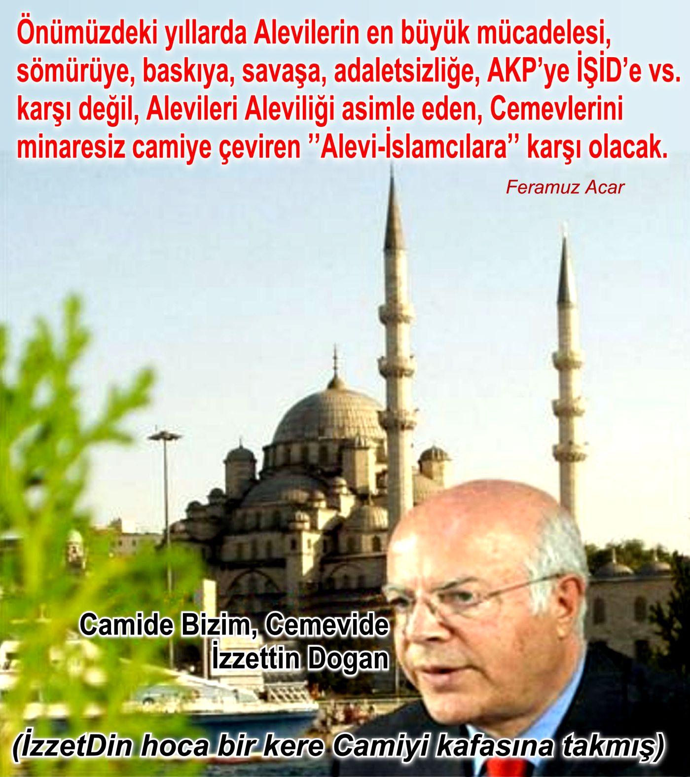 Devrimci Aleviler Birliği DAB Alevi Kızılbaş Bektaşi pir sultan cem hz Ali 12 imam semah Feramuz Şah Acar izzettin cami cemevi asimilasyon boynuz