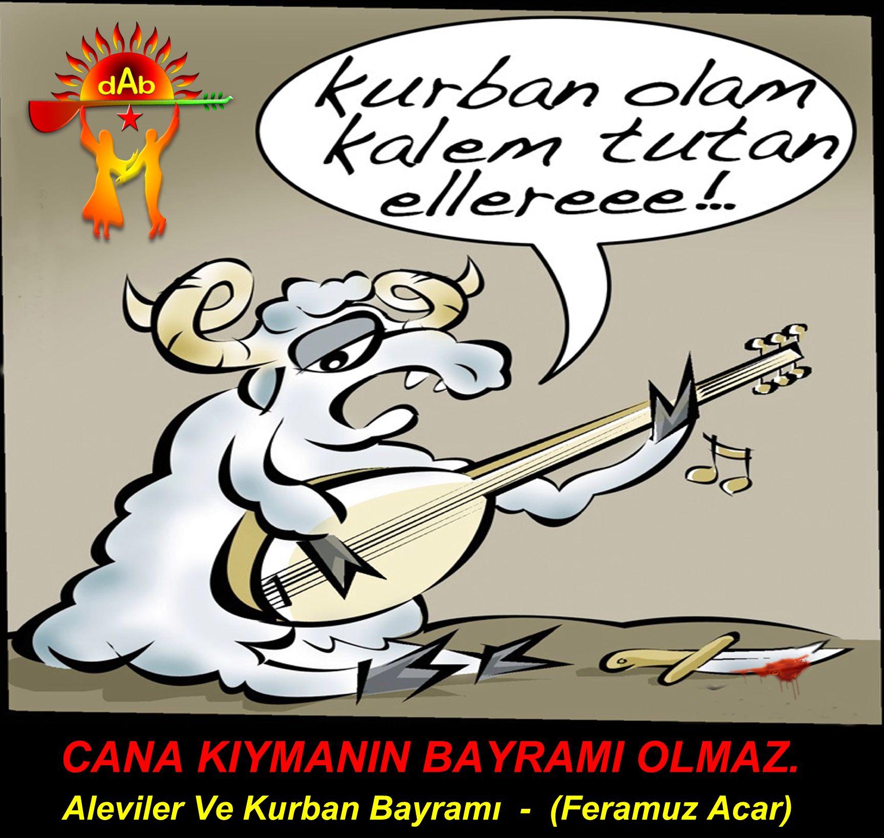 Devrimci Aleviler Birliği DAB Alevi Kızılbaş Bektaşi pir sultan cem hz Ali 12 imam semah Feramuz Şah Acar kurban olam kalem tutan ellere