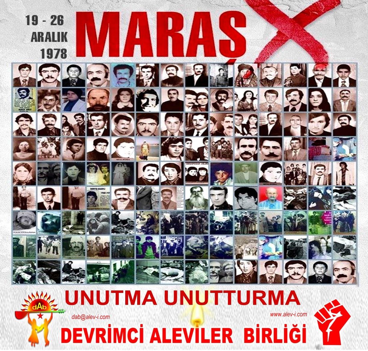 Devrimci Aleviler Birliği DAB Alevi Kızılbaş Bektaşi pir sultan cem hz Ali 12 imam semah Feramuz Şah Acar maras 19 26 aralik