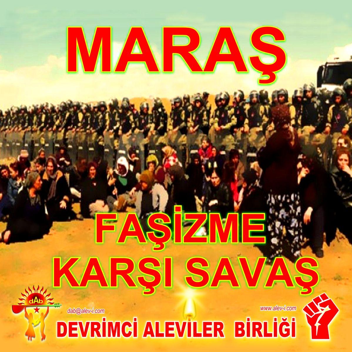 Devrimci Aleviler Birliği DAB Alevi Kızılbaş Bektaşi pir sultan cem hz Ali 12 imam semah Feramuz Şah Acar maras fasizme karsi savas