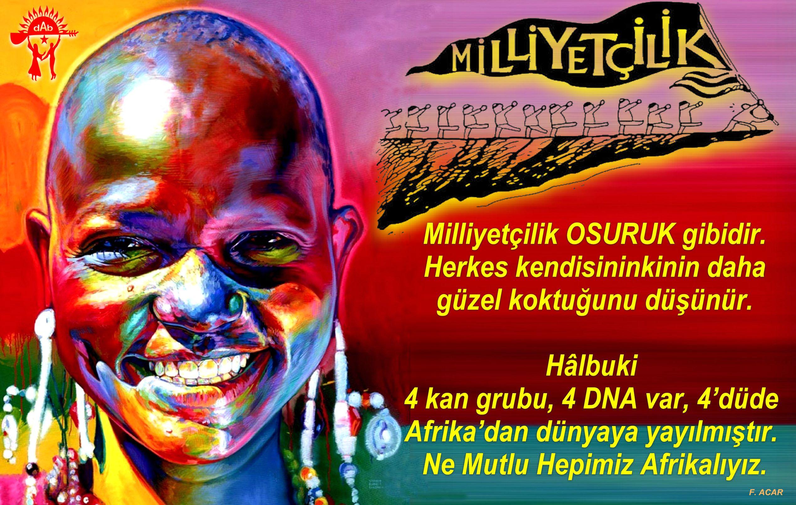 Devrimci Aleviler Birliği DAB Alevi Kızılbaş Bektaşi pir sultan cem hz Ali 12 imam semah Feramuz Şah Acar ne mutlu afrikaliyiz