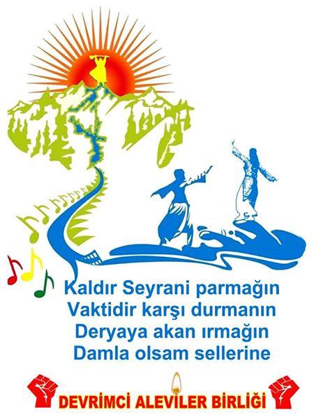 Devrimci Aleviler Birliği DAB Alevi Kızılbaş Bektaşi pir sultan cem hz Ali 12 imam semah Feramuz Şah Acar photo_401409970007398