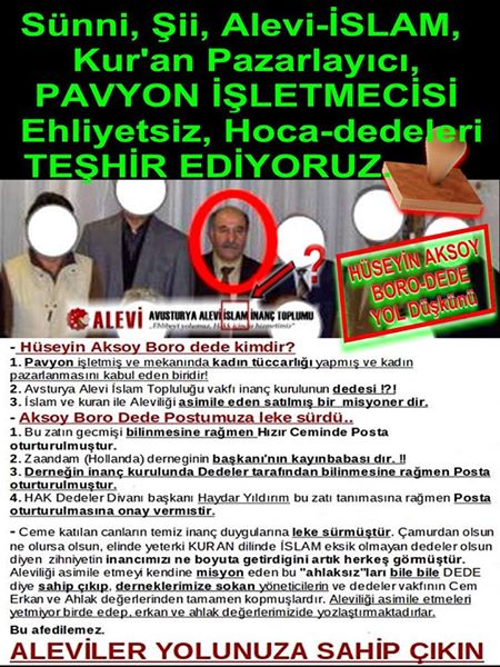 Devrimci Aleviler Birliği DAB Alevi Kızılbaş Bektaşi pir sultan cem hz Ali 12 imam semah Feramuz Şah Acar photo_401412353340493
