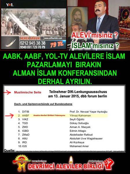 Devrimci Aleviler Birliği DAB Alevi Kızılbaş Bektaşi pir sultan cem hz Ali 12 imam semah Feramuz Şah Acar photo_442454219236306