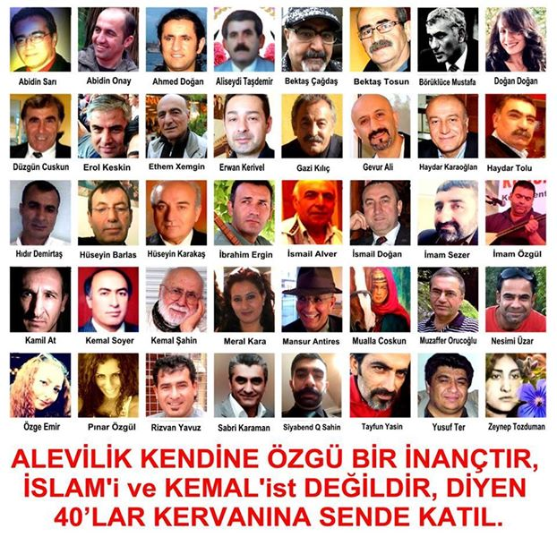 Devrimci Aleviler Birliği DAB Alevi Kızılbaş Bektaşi pir sultan cem hz Ali 12 imam semah Feramuz Şah Acar photo_462959920519069
