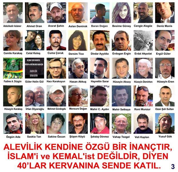 Devrimci Aleviler Birliği DAB Alevi Kızılbaş Bektaşi pir sultan cem hz Ali 12 imam semah Feramuz Şah Acar photo_464329130382148