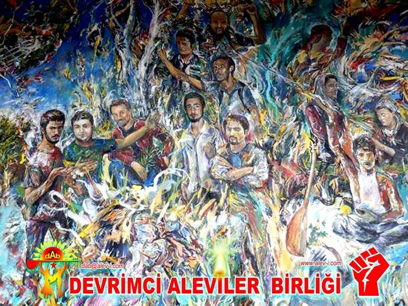 Devrimci Aleviler Birliği DAB Alevi Kızılbaş Bektaşi pir sultan cem hz Ali 12 imam semah Feramuz Şah Acar photo_518443324970728
