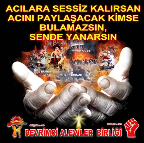 Devrimci Aleviler Birliği DAB Alevi Kızılbaş Bektaşi pir sultan cem hz Ali 12 imam semah Feramuz Şah Acar photo_540840092731051