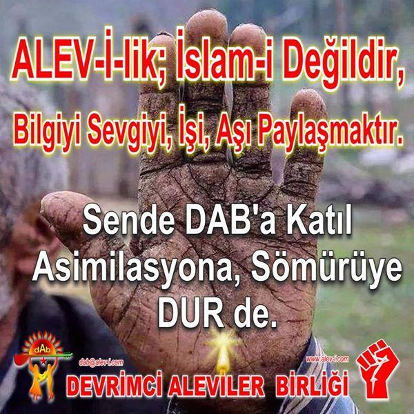 Devrimci Aleviler Birliği DAB Alevi Kızılbaş Bektaşi pir sultan cem hz Ali 12 imam semah Feramuz Şah Acar photo_544151085733285