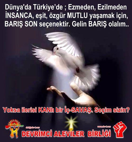Devrimci Aleviler Birliği DAB Alevi Kızılbaş Bektaşi pir sultan cem hz Ali 12 imam semah Feramuz Şah Acar photo_558673367614390