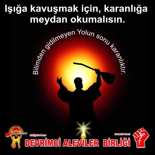 Devrimci Aleviler Birliği DAB Alevi Kızılbaş Bektaşi pir sultan cem hz Ali 12 imam semah Feramuz Şah Acar photo_559030517578675