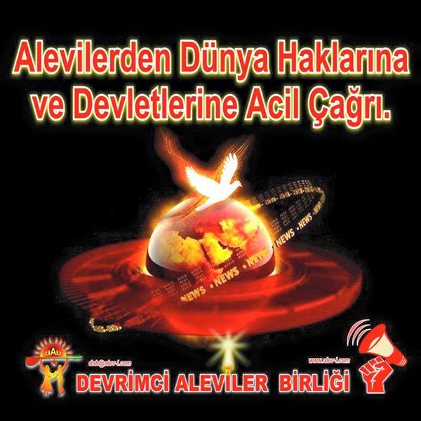 Devrimci Aleviler Birliği DAB Alevi Kızılbaş Bektaşi pir sultan cem hz Ali 12 imam semah Feramuz Şah Acar photo_572380052910388
